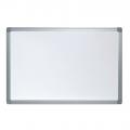 Бяла дъска с алуминиева рамка 60х90 см